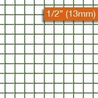 Wire Mesh PVC Coated 13mm