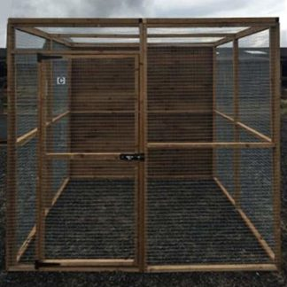 10 panel Aviary Enclosure (front)