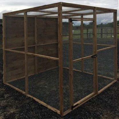 10 panel Aviary Enclosure (side)