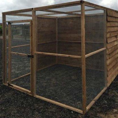 10 panel Aviary Enclosure (side)